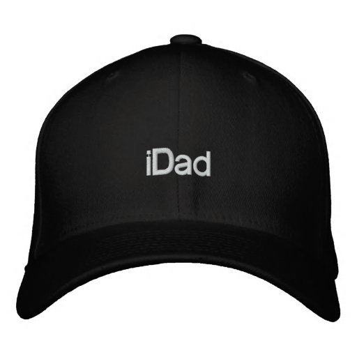 iDad Baseball Embroidery Hats for Dad Embroidered Hat