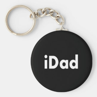 iDAD Basic Round Button Key Ring