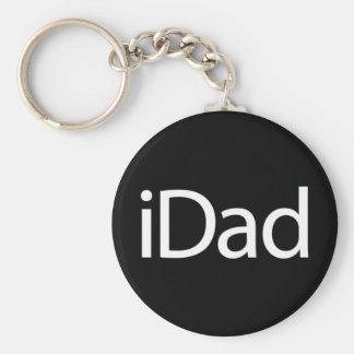 IDad Basic Round Button Key Ring