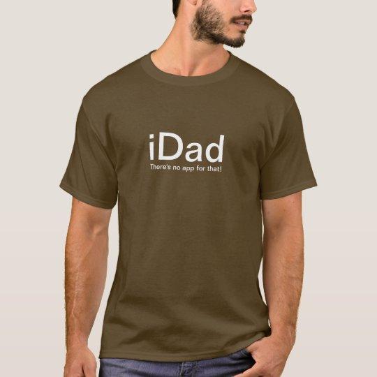 iDad Funny Father T-Shirt