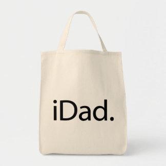 iDad. Logo (i Dad) Tote Bag