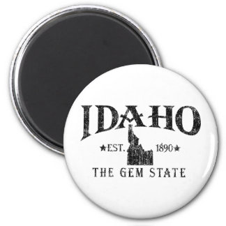 Idaho 6 Cm Round Magnet
