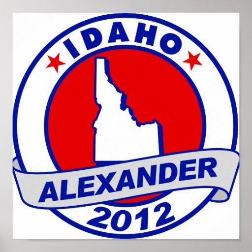Idaho Alexander Posters