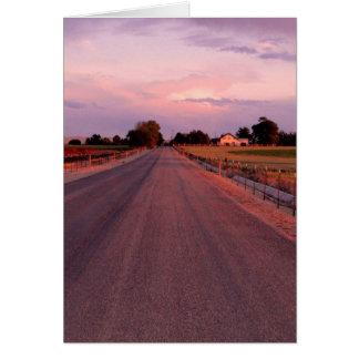 Idaho Country Road Card