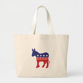 Idaho Democrat Donkey Tote Bag