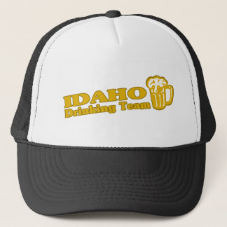 Idaho Drinking Team t shirts Trucker Hat