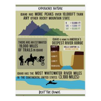 Idaho - Experience Nature Postcard