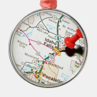 Idaho Falls Christmas Ornament