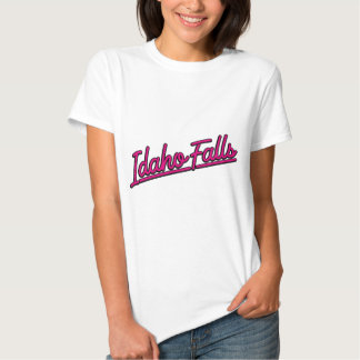 Idaho Falls in magenta T Shirts