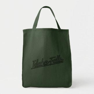 Idaho Falls in white Tote Bags