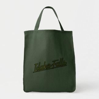 Idaho Falls in yellow Canvas Bags