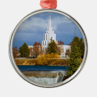Idaho Falls Temple Christmas Ornament