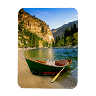 IDAHO, Fishing boat on a sandy beach in the Rectangular Magnets