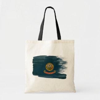 Idaho Flag Canvas Bags