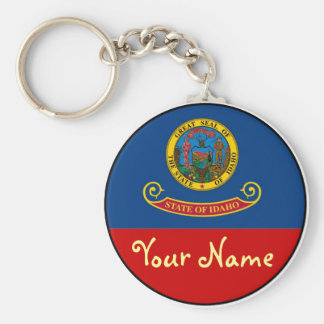 Idaho-  FLAG Key Ring