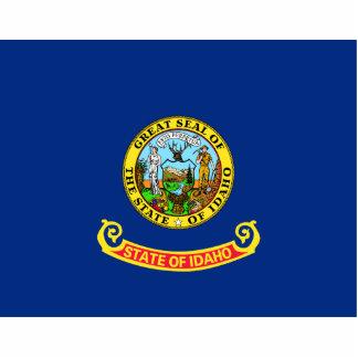 Idaho Flag Keychain Cut Out
