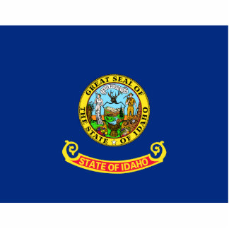 Idaho Flag Magnet Cut Out