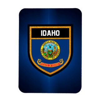 Idaho Flag Rectangular Photo Magnet