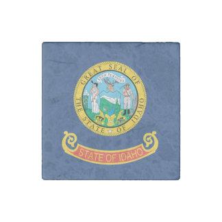 IDAHO FLAG STONE MAGNET