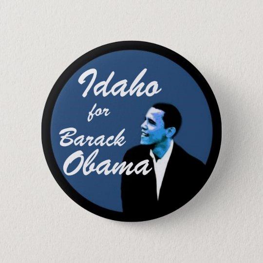 Idaho for Barack Obama 6 Cm Round Badge
