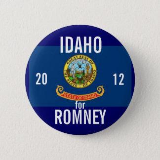 Idaho for Romney 2012 6 Cm Round Badge