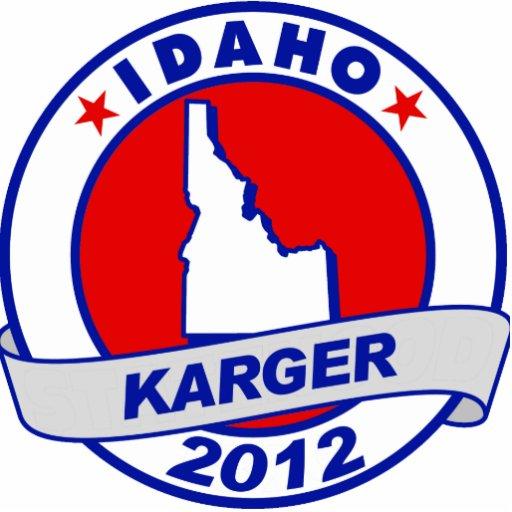 Idaho Fred Karger Photo Cutout