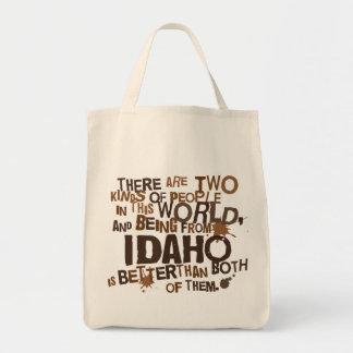 Idaho (Funny) Gift Tote Bags