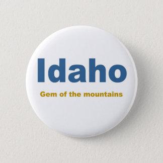 Idaho-Gem of the mountains 6 Cm Round Badge