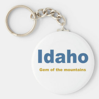 Idaho-Gem of the mountains Key Ring