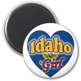 Idaho Girl 6 Cm Round Magnet