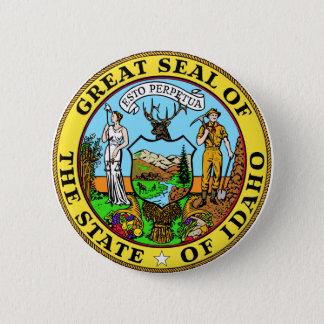 Idaho Great Seal 6 Cm Round Badge
