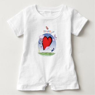 Idaho Head and Heart, tony fernandes Baby Bodysuit