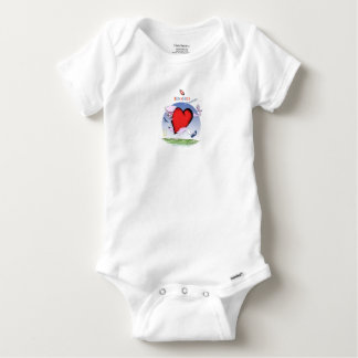 Idaho Head and Heart, tony fernandes Baby Onesie