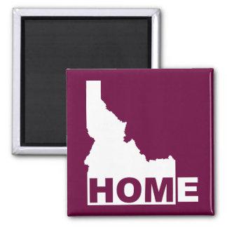 Idaho Home Away From State Fridge Magnet