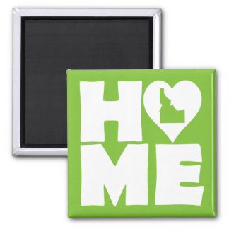 Idaho Home Heart State Fridge Magnet