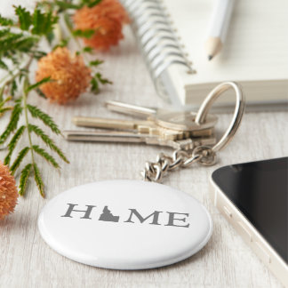 Idaho Home State Key Ring