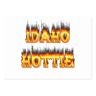 Idaho Hottie Fire Flames Pack Of Chubby Business Cards