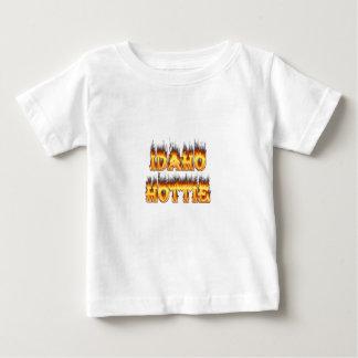 Idaho Hottie Fire Flames T Shirt
