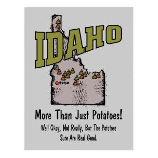 Idaho ID US Motto ~ More Than Just Potatoes Postcard