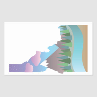 Idaho Illustrated Sticker