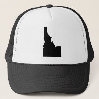 Idaho in Black Trucker Hat