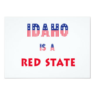 Idaho is a Red State Announcements