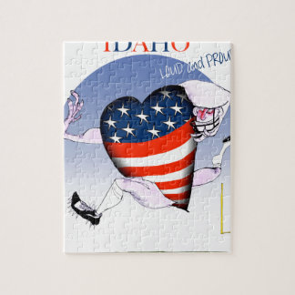 Idaho Loud and Proud, tony fernandes Jigsaw Puzzle