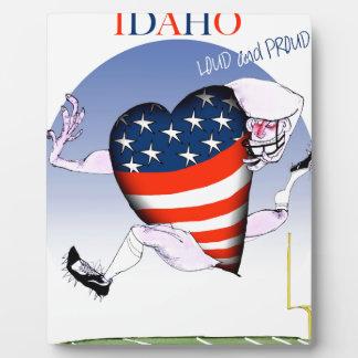 Idaho Loud and Proud, tony fernandes Plaque