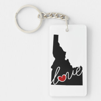 Idaho Love!  Gifts for ID Lovers Key Ring