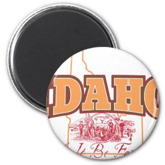 Idaho Fridge Magnet
