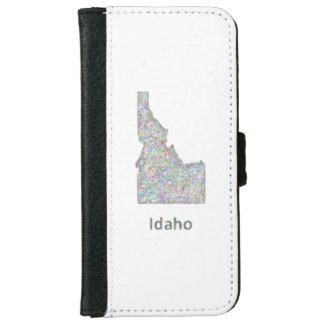 Idaho map iPhone 6 wallet case