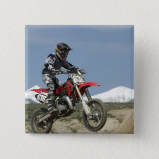 Idaho, Motocross Racing, Motorcycle Racing 15 Cm Square Badge