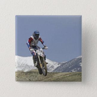 Idaho, Motocross Racing, Motorcycle Racing 2 15 Cm Square Badge
