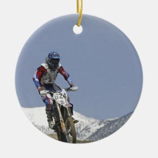 Idaho, Motocross Racing, Motorcycle Racing 2 Christmas Ornament